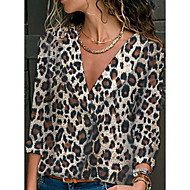 여성용 레오파드 셔츠, 스트리트 쉬크