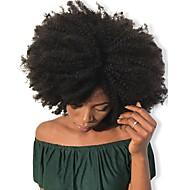 Dolago Mit Clip Haarverlängerungen Locken Echthaar Echthaar Haarverlängerungen Brasilianisches Haar Natürlich 7 Stück Geruchsfrei Natürlich 100% Jungfrau Alles Natürlich Schwarz
