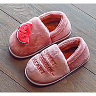 baratos Sapatos de Menino-Para Meninos / Para Meninas Sapatos Camurça Inverno Conforto Chinelos e flip-flops para Bébé Pêssego / Marron / Rosa claro