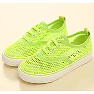 baratos Sapatos de Menina-Para Meninos / Para Meninas Sapatos Com Transparência Verão Conforto Tênis para Infantil Azul / Rosa claro / Verde Claro