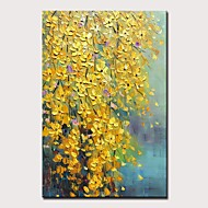 Mintura® Large Size Hand Painted Knife Flower Oil Paintings On Canvas Modern Abstract Wall Art Picture For Home Decoration No Framed