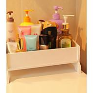 billige Lagring og oppbevaring-Oppbevaring Organisasjon Kosmetisk Makeup Organizer PVC skum styret Rektangelform Kreativ / Originale / udekket