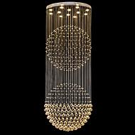 billige Takbelysning og vifter-Lysekroner Nedlys galvanisert Metall Krystall, LED 110-120V / 220-240V Varm Hvit / Kald Hvit Pære Inkludert / GU10