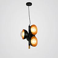 billige Takbelysning og vifter-ZHISHU 4-Light geometriske / Originale Lysekroner Omgivelseslys Malte Finishes Metall Glass Kreativ, Nytt Design 110-120V / 220-240V Varm Hvit / Hvit