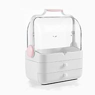 olcso Otthon & kert-Tárolás Szervezet Kozmetikai Smink Szervező Műanyag Téglalap alakú Hordozható / Multilayer / Porálló