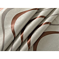 billige Gardiner ogdraperinger-Blackout Gardiner Stue Rutet 100% Polyester Mønstret