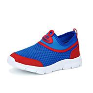 baratos Sapatos de Menina-Para Meninas Sapatos Com Transparência Outono Conforto Tênis para Infantil Preto / Vermelho / Azul / Estampa Colorida