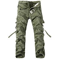 Ανδρικά Παντελόνια με τσέπες Εξωτερική Αντιανεμικό, Φοριέται, Χειμερινά Αθήματα Χειμώνας Παντελόνια Πολυάθλημα XL XXL XXXL / Ελαστικό