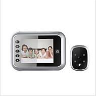 billige Dørtelefonssystem med video-Factory OEM Med ledning Innebygd Ut-høytaler 3.5 tommers Håndfri 1280*720 pixel En Til En Video Dørtelefon