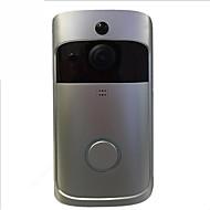 billige Dørtelefonssystem med video-Factory OEM Trådløs 2.4Ghz Nei Håndfri 1280*720 pixel En Til En Video Dørtelefon