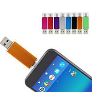 Ants 64GB USB แฟลชไดรฟ์ ดิสก์ USB USB 2.0 / Micro USB เปลือกหุ้มเหล็ก ผิดปกติ Covers