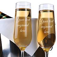 ガラス / 竹繊維 乾杯フルート ギフトボックス カップ / 結婚式 オールシーズン