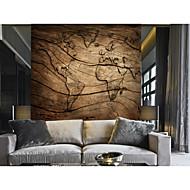 papel pintado / Mural Lona Revestimiento de pared - adhesiva requerida Floral / Patrón / 3D