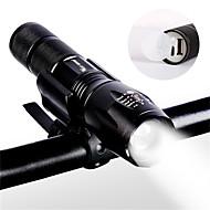 billige Sykkellykter og reflekser-Frontlys til sykkel LED Sykkellykter Sykling Bærbar, Holdbar Li-ion 800-1000 lm Camping / Vandring / Grotte Udforskning / Sykling - WEST BIKING®