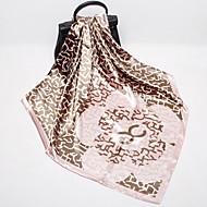 Жен. Квадратный платок - С кисточками Геометрический принт