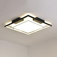 Novedades Apliques de techo Luz Ambiente Acabados Pintados Metal Multitonos, Protección para los Ojos, Regulable 110-120V / 220-240V Blanco / Regulable con control remoto / Blanco cálido + Blanco