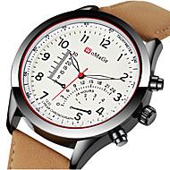Bărbați Ceas Sport Ceas Elegant Ceas de Mână Quartz Piele Negru / Maro Creative Cool Analog - Digital Lux Modă Aristo - Maro Negru / Alb Kaki Un an Durată de Viaţă Baterie