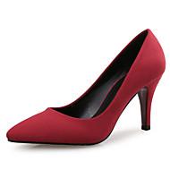رخيصةأون -نسائي فرو ظبي ربيع & الصيف كلاسيكي كعوب كعب ستيلتو حذاء براس مدبب أحمر / وردي فاتح