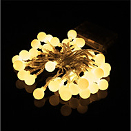 New 10 meters 100 Lights Fairy Garland LED String Lights Waterproof Christmas Tree Wedding Home Interior Decoration AA Battery Power Supply