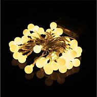 novi 10 metara 100 svjetla vila vijenac vodio string svjetla vodootporna božićno drvce vjenčanja kuće uređenje interijera aa baterija napajanje