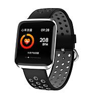 Indear L2 سوار الذكية Android iOS بلوتوث Smart رياضات ضد الماء رصد معدل ضربات القلب المشي عداد الخطى تذكرة بالاتصال متتبع النشاط متتبع النوم