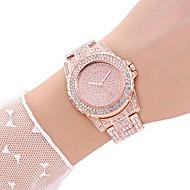 Damen Uhr Kleideruhr Armbanduhr Quartz Legierung Silber / Gold / Rotgold Armbanduhren für den Alltag Analog Freizeit Silber Gold Rotgold