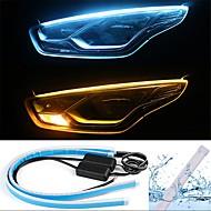 2pcs Проводное подключение Автомобиль Лампы 13 W SMD 2835 800 lm 168 Светодиодная лампа Фары дневного света / Лампа поворотного сигнала / Задний свет Назначение Универсальный Все года