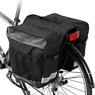 ROSWHEEL 30 L 自転車用リアバッグ / 自転車用サイドバッグ 自転車用リアバッグ 防水 防雨 コンパクト 自転車用バッグ ポリエステル 自転車用バッグ サイクリングバッグ サイクリング 戸外運動