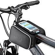 ROSWHEEL Κινητό τηλέφωνο τσάντα / Τσάντα για σκελετό ποδηλάτου 5.5 inch Οθόνη Αφής Ποδηλασία για Samsung Galaxy S4 / iPhone 5/4S / iPhone 8/7/6S/6 Μαύρο