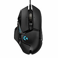 LITBest G502HERO Wired USB Gaming Mouse RGB-Licht 16000 dpi 5 einstellbare DPI-Stufen 11 pcs Schlüssel