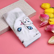 Case For Samsung Galaxy Galaxy S10 Plus / Galaxy S10 E Wallet / Card Holder / with Stand Full Body Cases Cat Hard PU Leather for S9 / S9 Plus / S8 Plus
