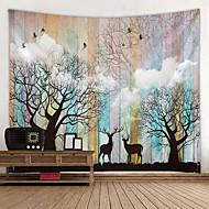 Zahradní motiv / Klasický motiv Wall Decor 100% polyester Moderní Wall Art, Nástěnné tapiserie Dekorace