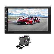SWM 9218+4LED camera 7 inch 2 Din Android 8.1 Multimediální přehrávač automobilů / Auto MP5 přehrávač / Auto MP4 přehrávač GPS / Dotykový displej / MP4 pro Evrensel RCA / Další Podpěra, podpora Mpeg