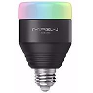 nyhet bluetooth e27 led pære rgb lys telefon kontrollert dimbar lampe pære farge skifte hjem dekor jul lys