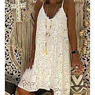 ราคาถูก -สำหรับผู้หญิง รูปตัว เอ แต่งตัว ยาวถึงเข่า สาย
