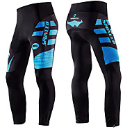 Malciklo Men's Cycling Tights Bike Pants / Trousers Sports Blue / Black Mountain Bike MTB Road Bike Cycling Clothing Apparel Bike Wear / Micro-elastic