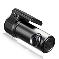 JUNSUN S30 720p Mini / Nuevo diseño / HD DVR del coche 150 Grados Gran angular No aparece la pantalla (salida por APP) Dash Cam con WIFI / G-Sensor / Detección de Movimiento Registrador de coche