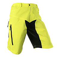 Arsuxeo Herrn Mountainbike Shorts Fahhrad Shorts / Laufshorts Baggyhosen Mountainbike Shorts Atmungsaktiv Rasche Trocknung Anatomisches Design Sport Polyester Elasthan Hellgelb / Hellblau / Dehnbar