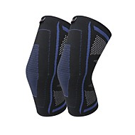 Nakolannik için Koşma Fitness Elastik Yıkanabilir Elastikiyet Unisex Naylon 1 Parça Spor Mavi Gri
