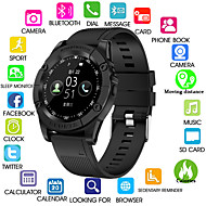 cheap -Kimlink SW98 Men Smartwatch Android Bluetooth Touch Screen Calories Burned Hands-Free Calls Camera Distance Tracking Pedometer Call Reminder Activity Tracker Sleep Tracker Sedentary Reminder / 0.3 MP