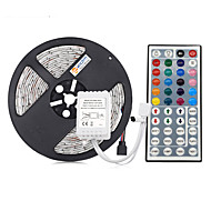 cheap -5m Flexible LED Light Strips / Light Sets / RGB Strip Lights 300 LEDs 5050 SMD RGB Waterproof / Cuttable / Linkable 12 V 1 set / IP65 / Self-adhesive