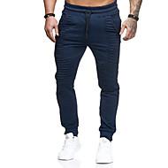 povoljno -Muškarci Sportski Sportske hlače Hlače - Jednobojni Dungi Tamno siva Navy Plava Vojska Green US32 / UK32 / EU40 US34 / UK34 / EU42 US36 / UK36 / EU44