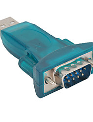 abordables -Adaptador convertidor rs232 a usb 2.0 con cable usb + cd
