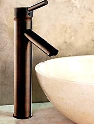 abordables -aceitado grifo de lavabo del baño de bronce (de altura)