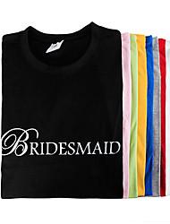 """cheap -""""BRIDESMAID"""" T-shirt"""