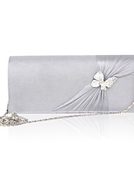 cheap -Women's Bags Silk Evening Bag 7 Pieces Purse Set Bow(s) / Crystal / Rhinestone / Wedding Bags