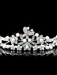 cheap -Crystal / Imitation Pearl / Fabric Tiaras 1 Wedding / Special Occasion / Party / Evening Headpiece / Alloy