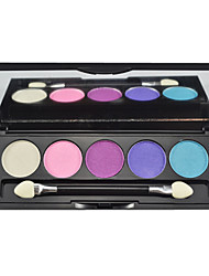 cheap -5 Eyeshadow Palette Shimmer Eyeshadow palette Powder Normal Daily Makeup