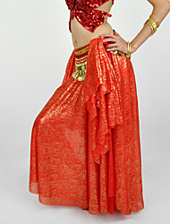 cheap -Belly Dance Skirts Women's Performance Chiffon 1 Piece Dropped Skirt