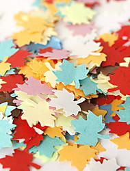 confettis érable coloré (sac de 350 pièces) cérémonie de mariage belle